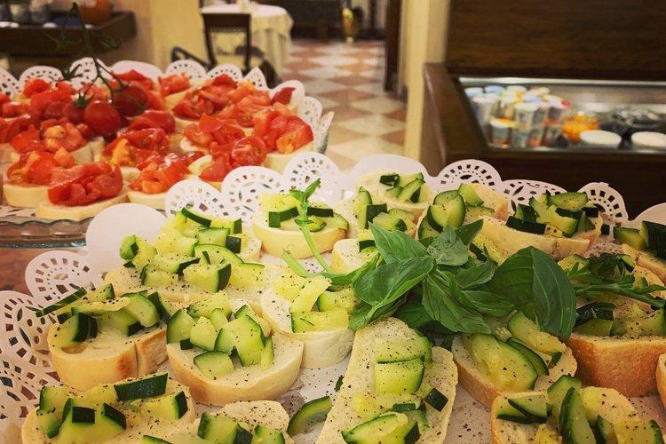 Gastronomia  art hotel commercianti bologna