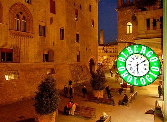 Esterno  art hotel orologio bologna