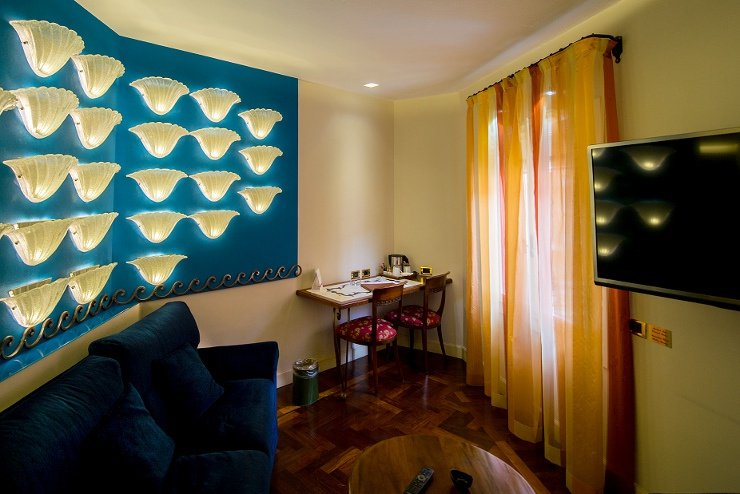 JUNIOR SUITE Art Hotel Commercianti Bologna, Italia