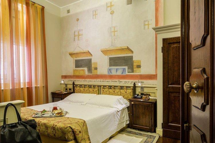 Camera doppia  art hotel commercianti bologna