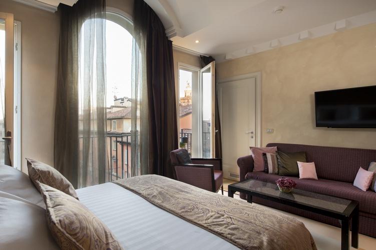 Suite  art hotel novecento bologna