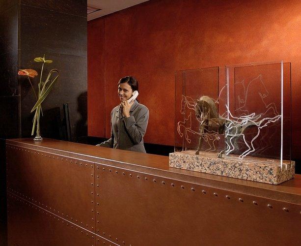 Ricezione  Art Hotel Novecento Bologna, Italia