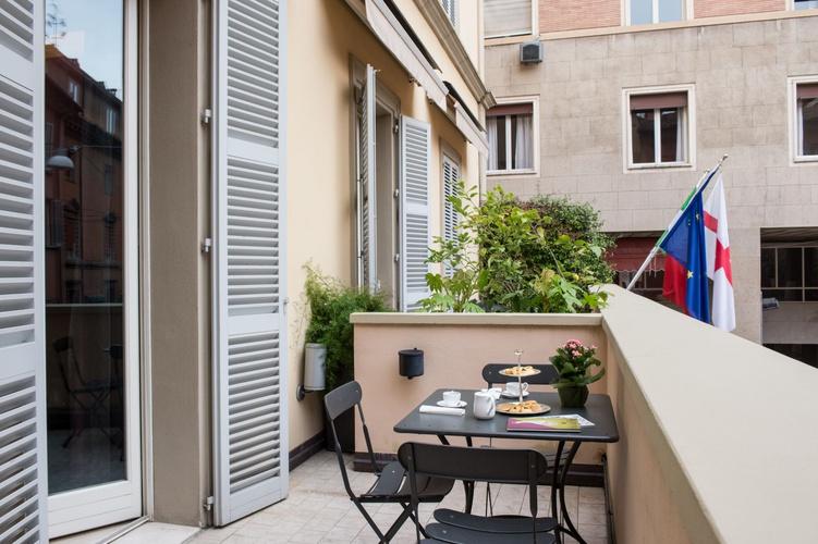 Terrazza  art hotel novecento bologna
