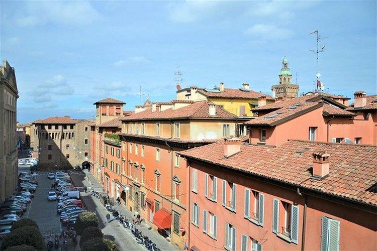 Vista panoramica  art hotel novecento bologna