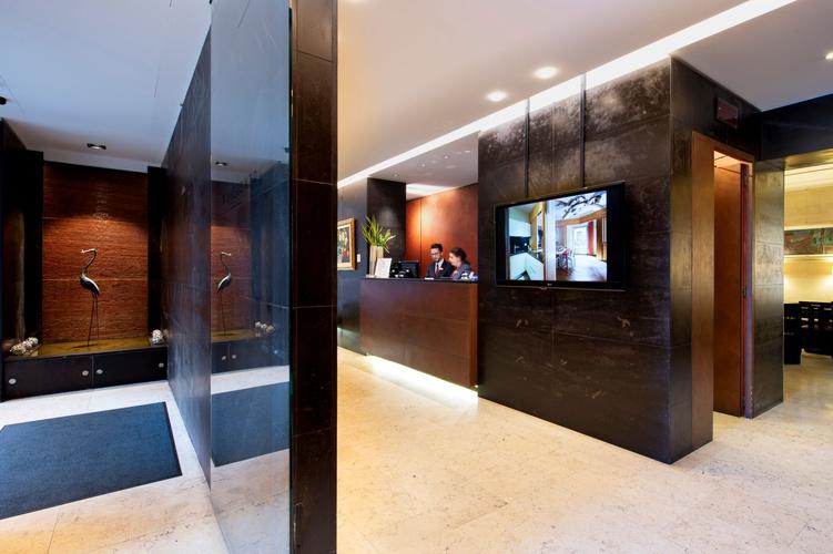 Ricezione  art hotel novecento bologna
