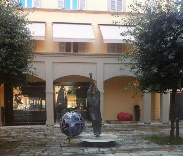 Ingresso  Art Hotel Novecento Bologna, Italia