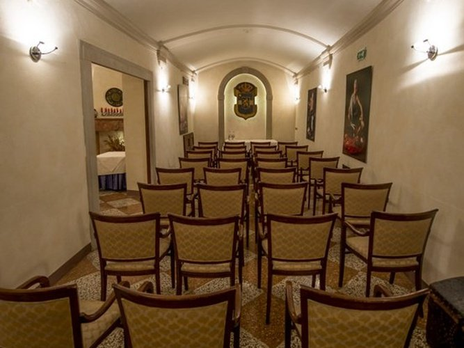 SALA RIUNIONE Art Hotel Commercianti Bologna, Italia